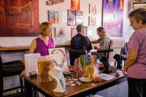 Art on Tap at Ricochet