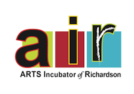 AIR – Arts Incubator of Richardson Retina Logo