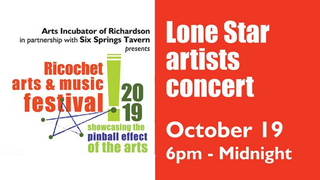 Ricochet Arts & Music Festival - click here for more info