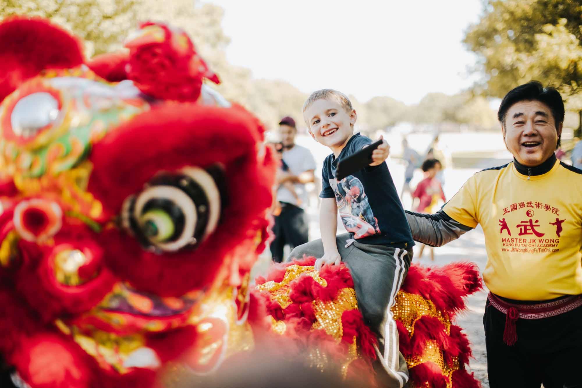 2019 Ricochet Lion Dancers photo by Kathy Tran