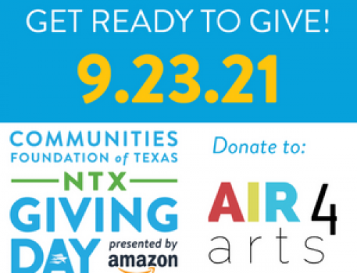 AIR4arts Seeks Donations on North Texas Giving Day